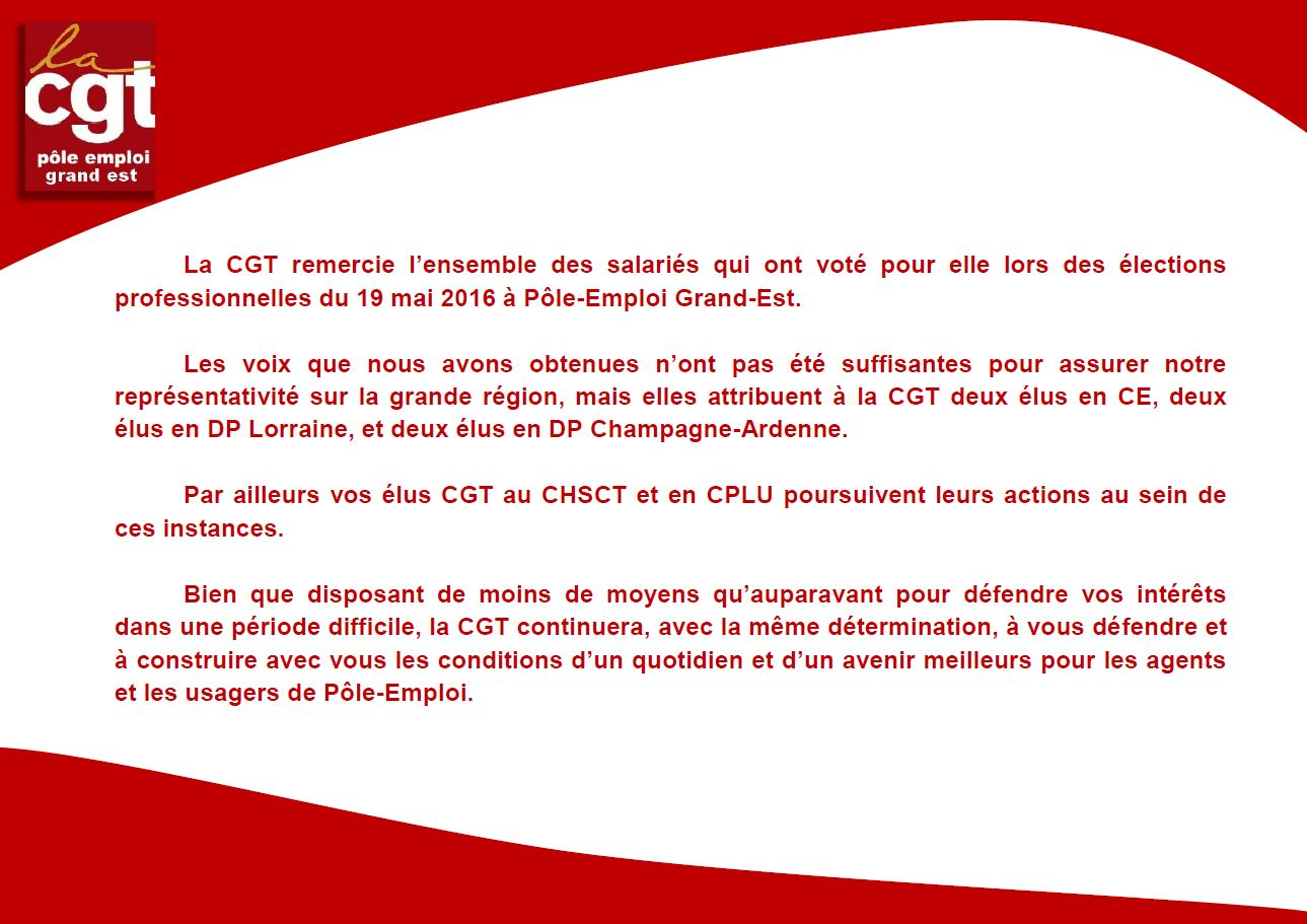 Communication n°5 CGT Grand Est